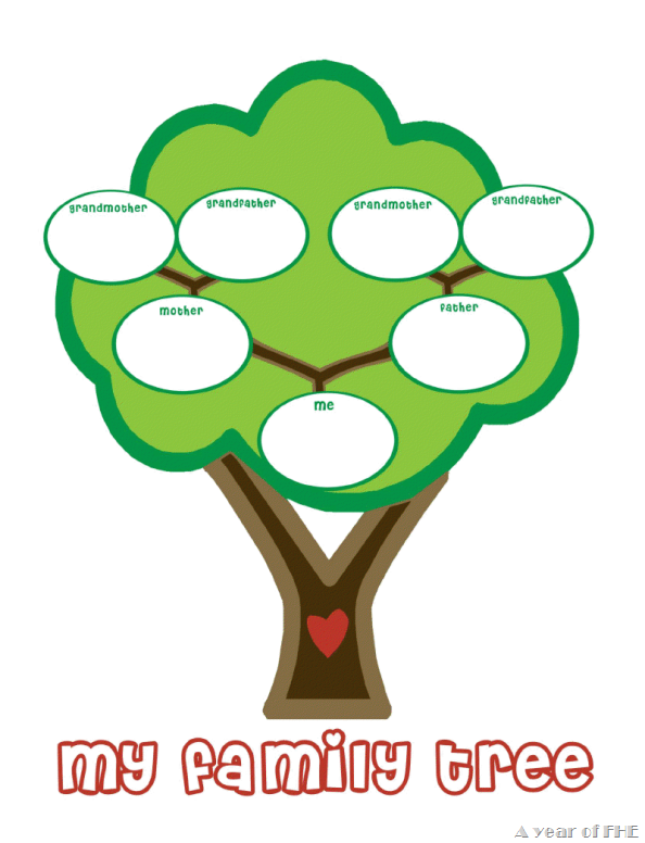 preschool family tree template - family tree template family tree templates for kindergarten